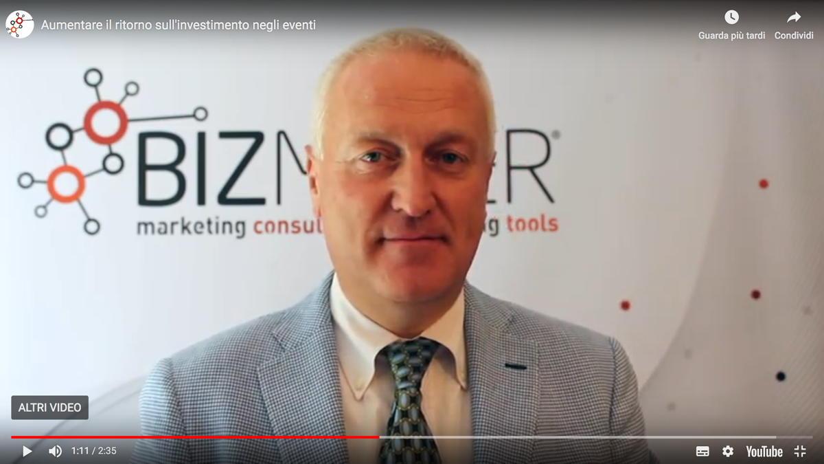 Nuovo video: la metodologia Bizmaker® per aumentare il ritorno sull'investimento negli eventi