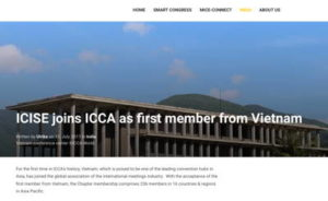 ICISE joins ICCA as first member from Vietnam