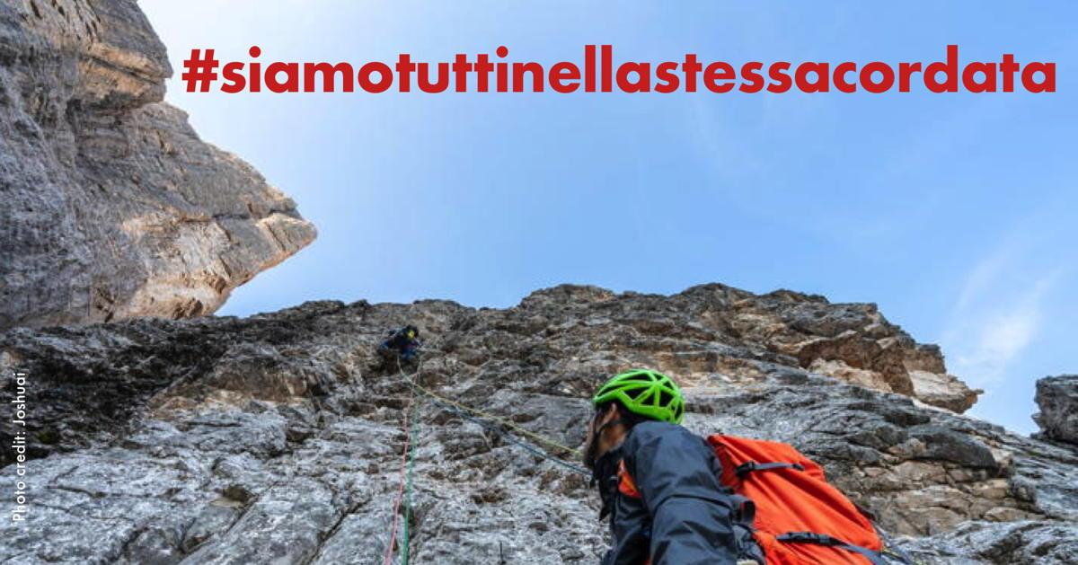 Turismo nelle Dolomiti: siamo tutti nella stessa… cordata