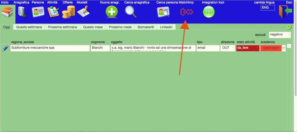 Integrazione FileMaker Mailchimp